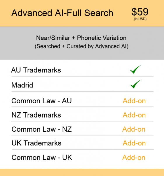 AUS & NZ TM Searching Advanced AI–Full Search