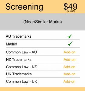 AUS & NZ TM Searching Screening Search