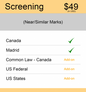 Canada TM Searching Screening Search
