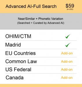 Europe TM Searching Advanced AI–Full Search