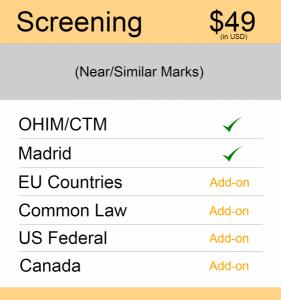 Europe TM Searching Screening Search