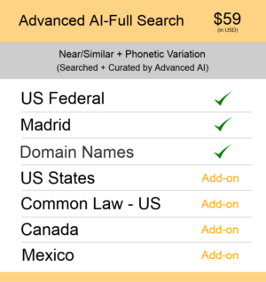 US TM Searching Advanced AI–Full Search